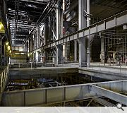 All machinery has been stripped out from the power station ahead of conversion