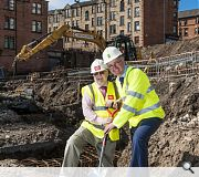 Some GHA tenants from north Glasgow will be rehoused in the scheme