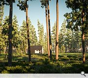 The flexible spaces are planned to be sited in pine forests, riverbanks and even a harbout jetty