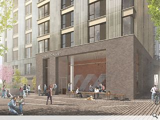 324 build to rent homes on the rise at Buchanan Wharf