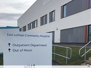 Haddington NHS out-patients department unveiled