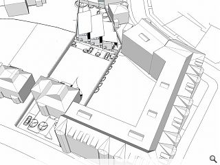 Trio of Merchiston townhouses proposed