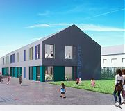Plans for St David's RC (pictured) and Craigour Park include provision of additional space should that become necessary