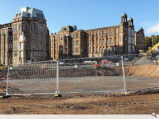 First homes break ground at Glasgow's Victoria Infirmary