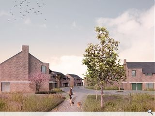 Lockerbie tenants given first glimpse of new 'house' architecture
