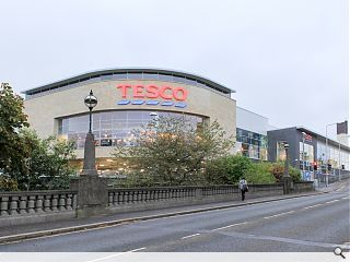Tesco unveil Dunfermline superstore