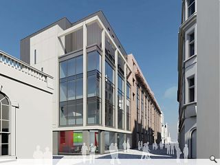 Contractor appointed for latest Edinburgh hotel