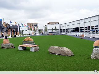 Athletes' Village springs into action ahead of Commonwealth Games debut
