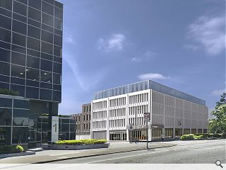 Hotel conversion for Morris & Steedman-designed offices secures planning