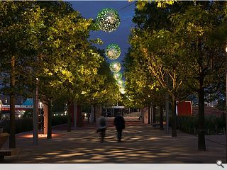 Speirs + Major unveil Olympic Park lighting