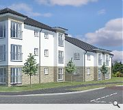 Dovecot Court will have an Eco Homes 'Very Good' rating