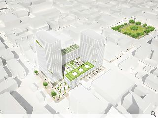 Twin towers to stand tall over Blythswood Hill
