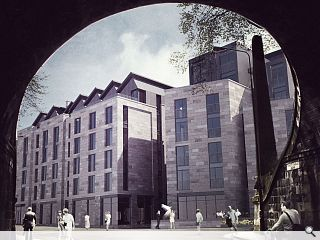 Fletcher Joseph lodge amended King's Stables Road proposals