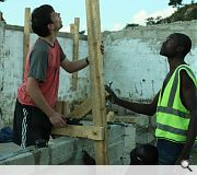 The charity places emphasis on building efficiently, sustainably and economically