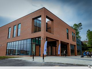Perth College take keys to new Academy of Sport and Wellbeing