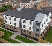 A mix of 2/3 storey flats and terraced houses are provided