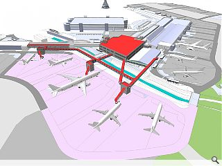 Edinburgh Airport expansion waiting in the wings