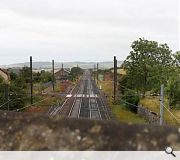 The new station will be built on top of an embankment and require a new access road