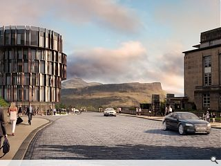 New Royal High School hotel images published