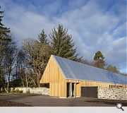 Brodie Castle – Playful Garden Visitor Centre, Forres (£1.2 m) Hoskins Architects for The National Trust for Scotland