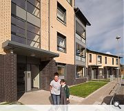 New Build Housing Ayr, John Gilbert Architects