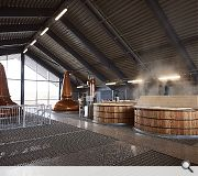 Lagg Distillery Still Room