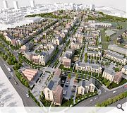 Sighthill Residential Masterplan View from the East