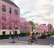 Sighthill Residential Masterplan Visualisation 02