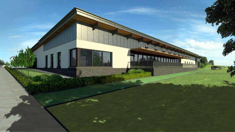 McLean Architects tee off East Kilbride club house ...