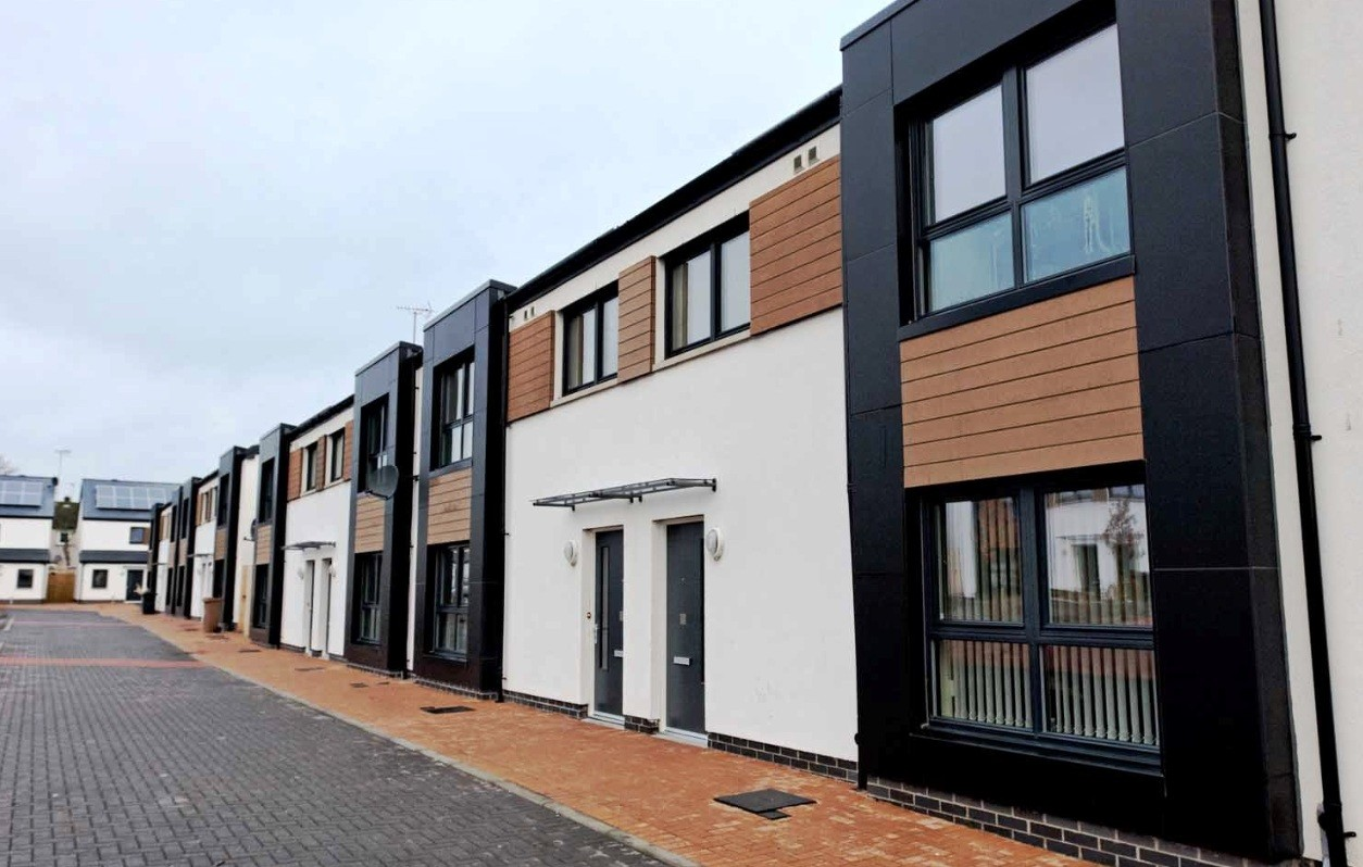 First New Council Housing In A Generation Completes In