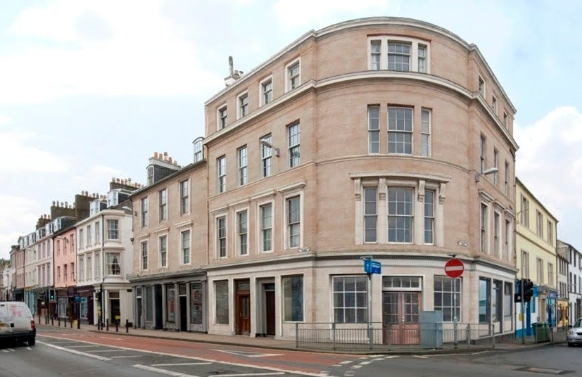 Ayr Tickled Pink By Georgian Building Makeover March