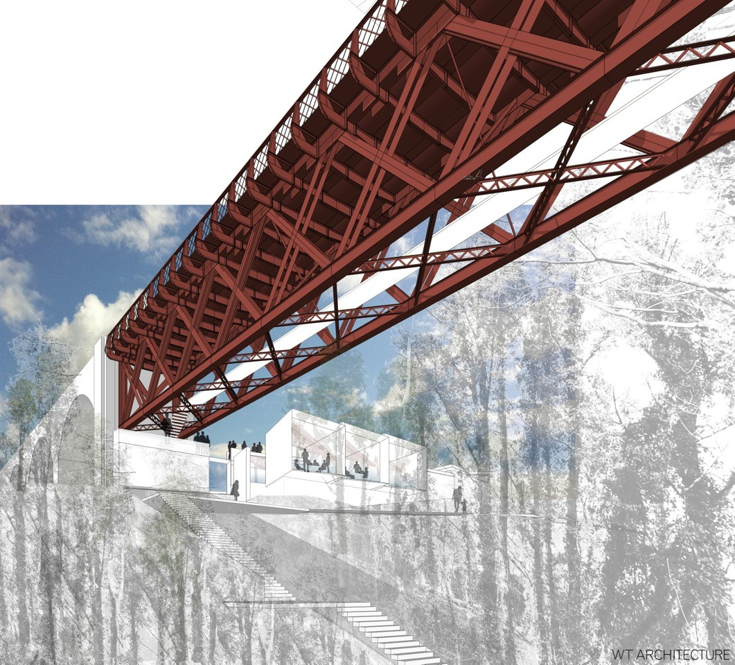 Forth Bridge visitor centre concept draw up : September 2013 : News : Architecture in profile ...