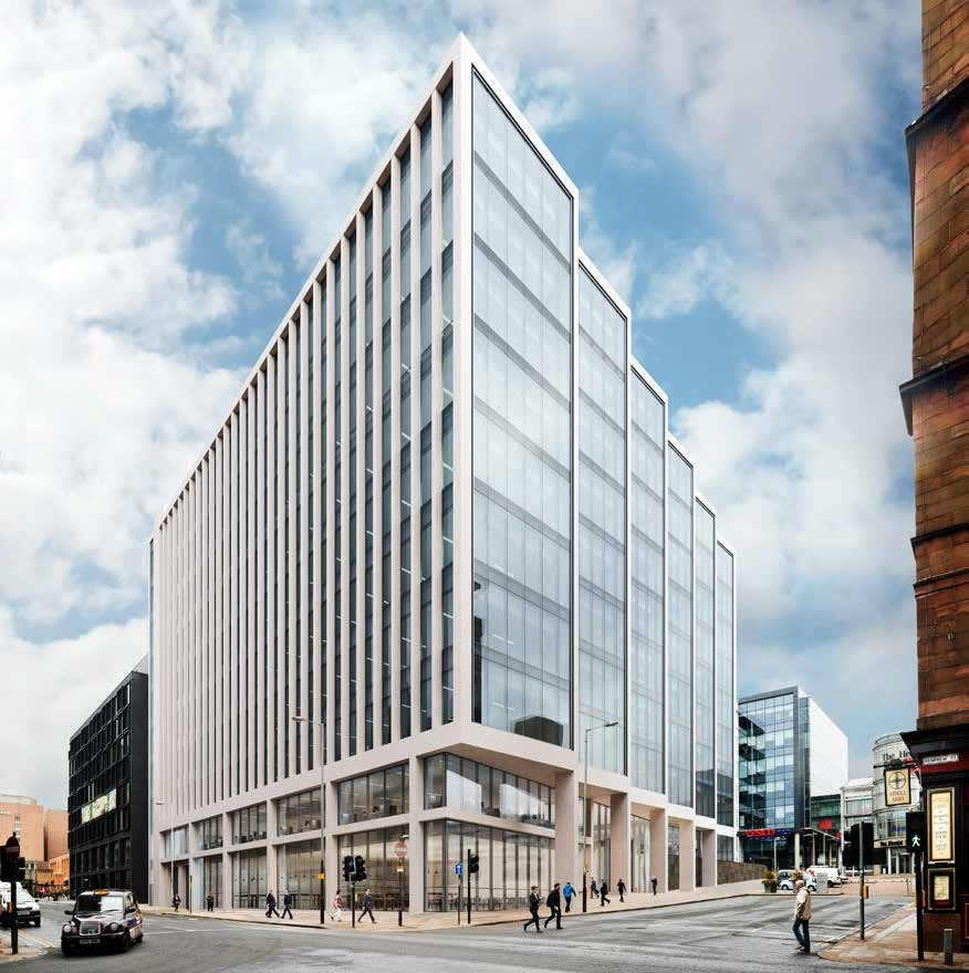 180,000sq/ft Office Scheme To Complete Glasgow City Block