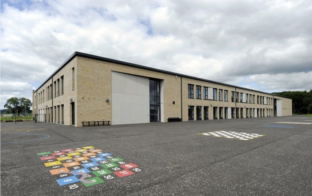 Crieff Primary School Officially Opened February 2016