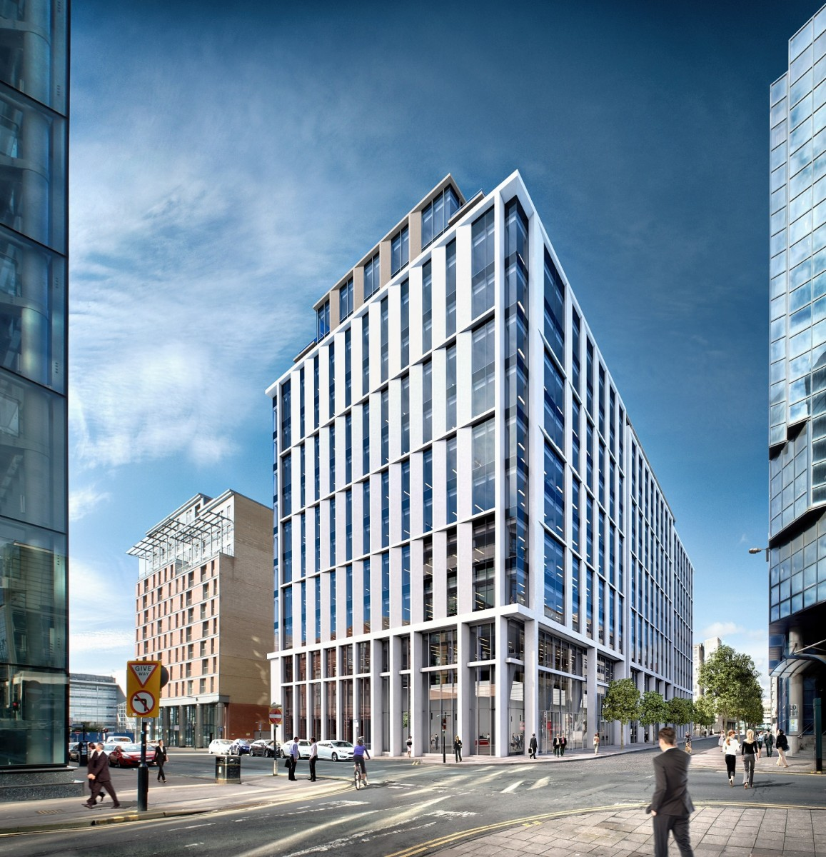 Glasgow Office Build To Plug Supply Shortfall After