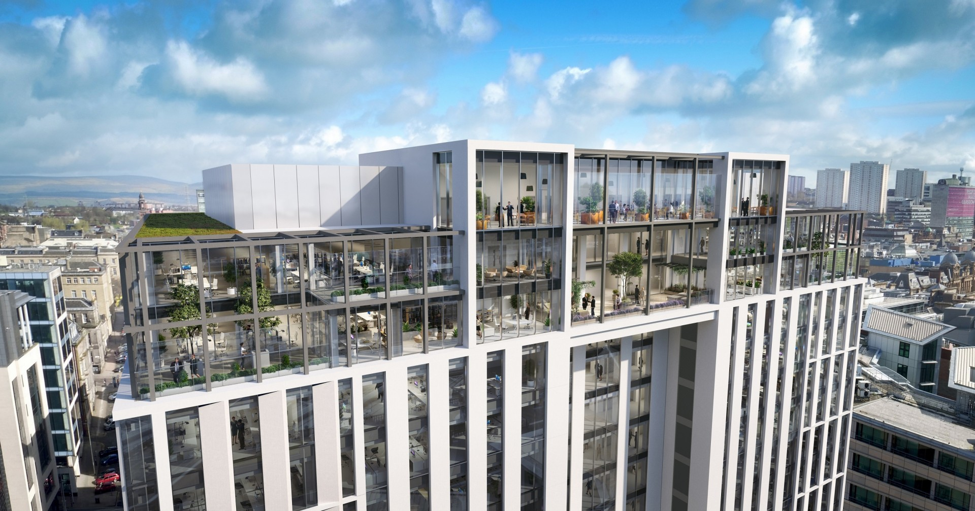 Glasgow Office Market Back In Rude Health October 2018 News Architecture In Profile The