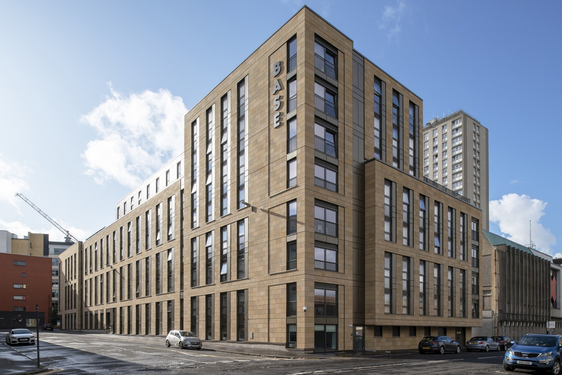 Glasgow's newest student flats in tune with the neighbours : October 2019 : News : Architecture in profile the building environment in Scotland - Urban Realm